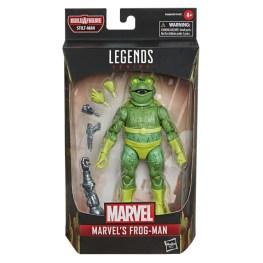 MARVEL LEGENDS SERIES SPIDER-MAN 6-INCH MARVEL'S FROG-MAN Figure - in pck