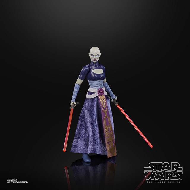 STAR WARS THE BLACK SERIES 6-INCH ASAJJ VENTRESS Figure - oop (3)