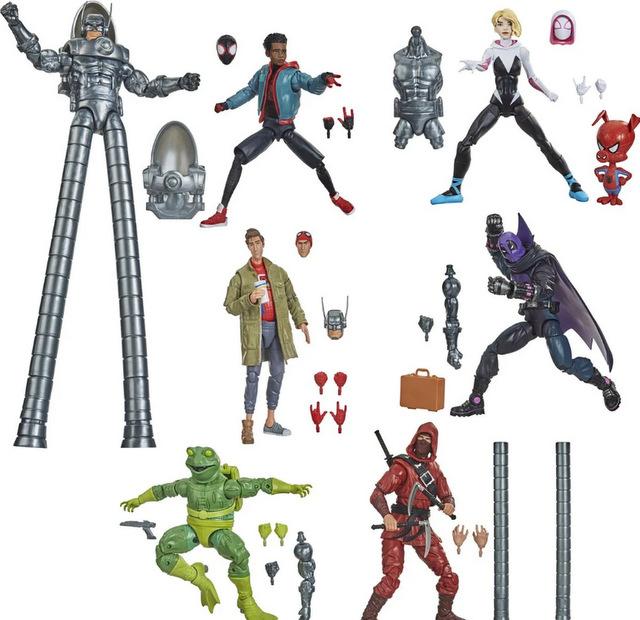 Spider-Man Marvel Legends 6-Inch Action Figures Wave 1 Case - Stilt-Man Series