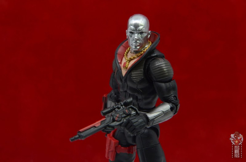 gi joe classified series destro figure review -holding blaster