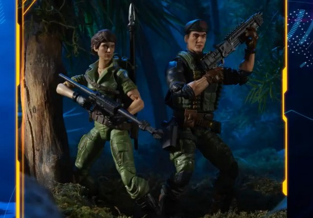 gi joe classified series fan first friday reveals - lady jaye and flint