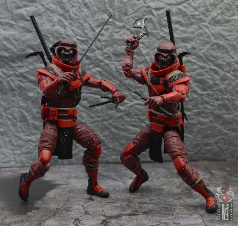 gi joe classified series red ninja figure review - battle stance