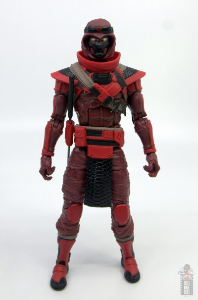 gi joe classified series red ninja figure review - front