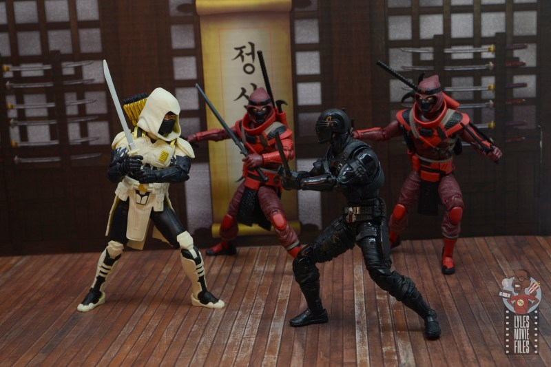 gi joe classified series red ninja figure review - helping storm shadow
