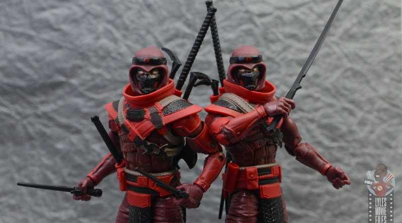 gi joe classified series red ninja figure review - main pic