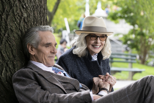 love weddings and other disasters review - jeremy irons and diane keaton