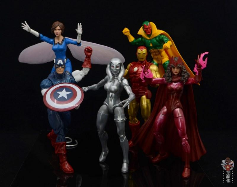 marvel legends jocasta figure review - avengers in action