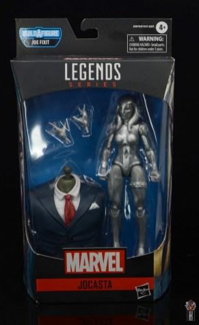 marvel legends jocasta figure review - package front