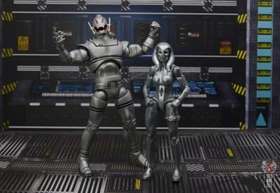 marvel legends jocasta figure review - with ultron