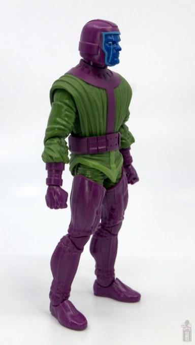 marvel legends kang figure review - right side