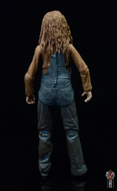 neca aliens newt figure review - rear