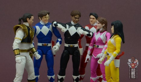 power rangers lightning collection black ranger figure review - hanging with the power rangers