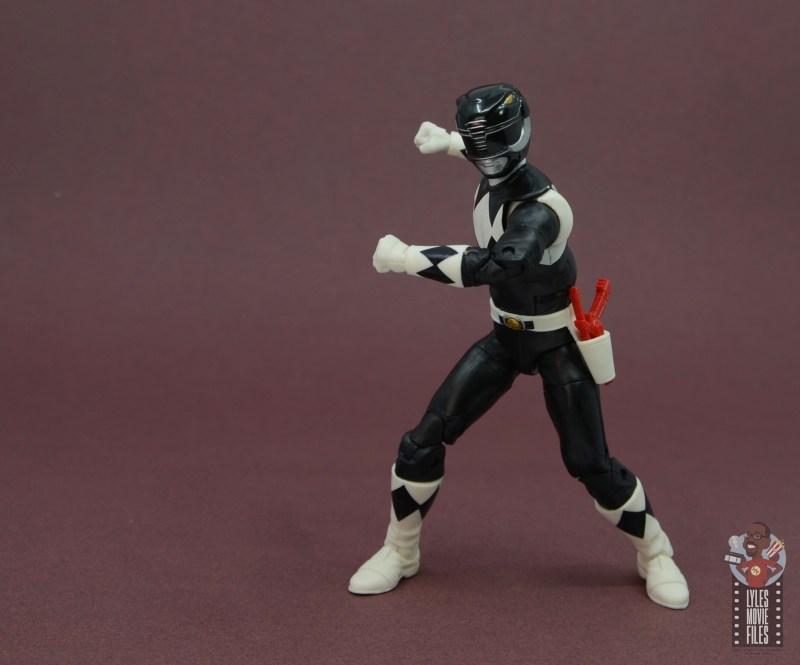 power rangers lightning collection black ranger figure review - ready for battle