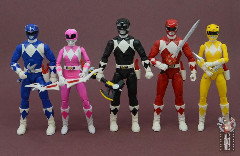 power rangers lightning collection black ranger figure review - scale with power rangers