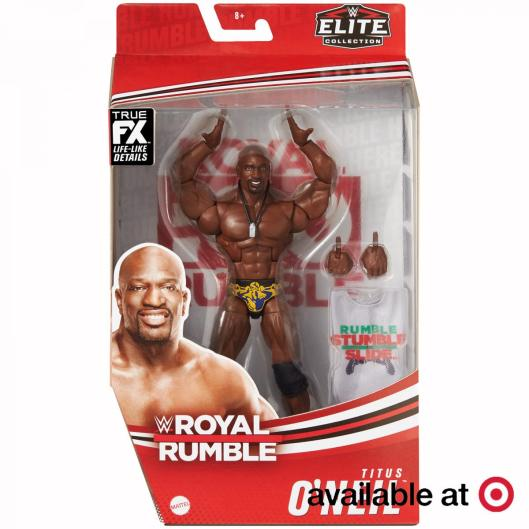 ringside fest 2020 - royal rumble titus o'neil -package front