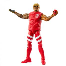 ringside fest 2020 - wwe elite 81 - motez ford - with accessories