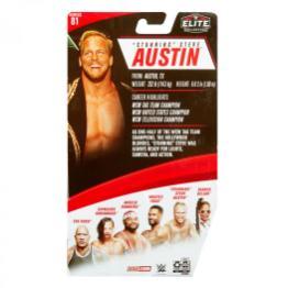 ringside fest 2020 - wwe elite 81 - stunning steve austin - packaging rear