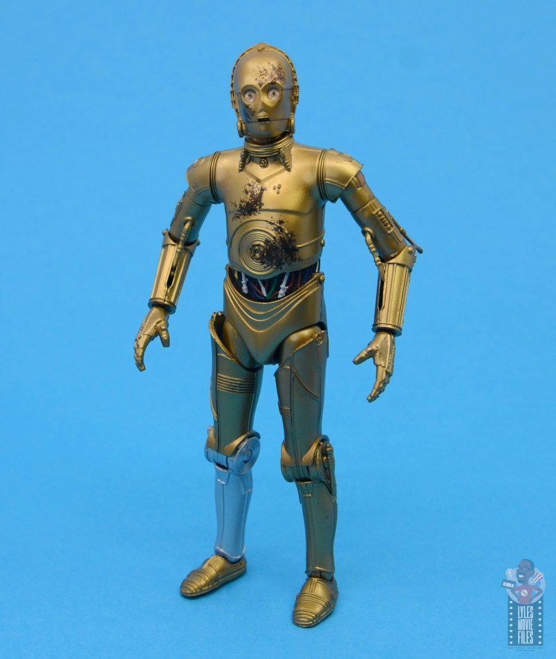 star wars the black series chewbacca and c-3p0 figure set review - re-assembled c-3p0