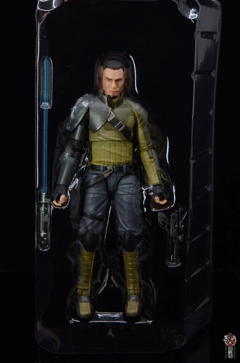 star wars the black series kanan jarrus figure review - accessories in tray