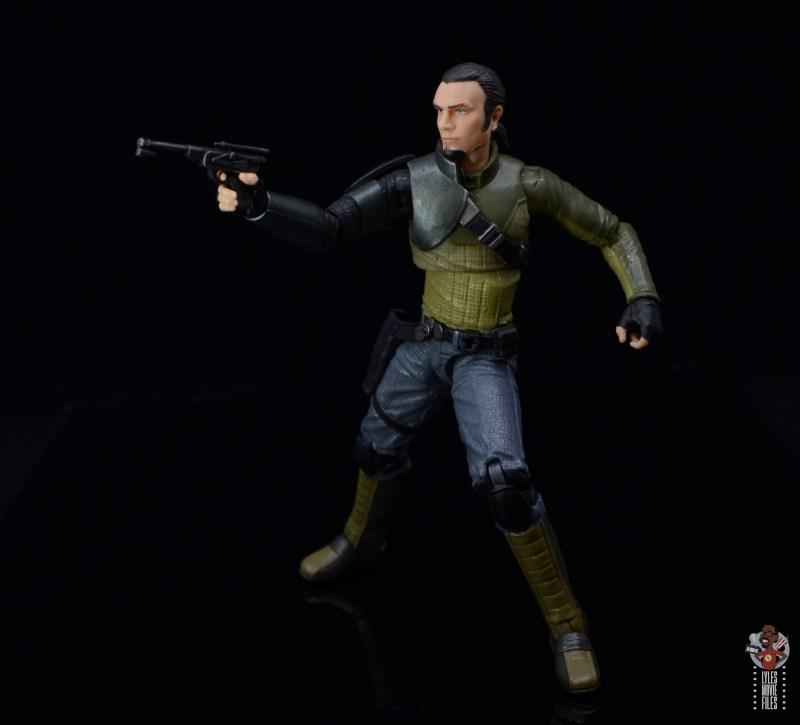 star wars the black series kanan jarrus figure review - aiming blaster