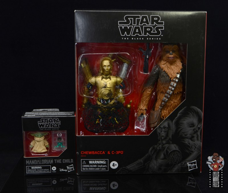star wars the black series the child figure review - package comparison