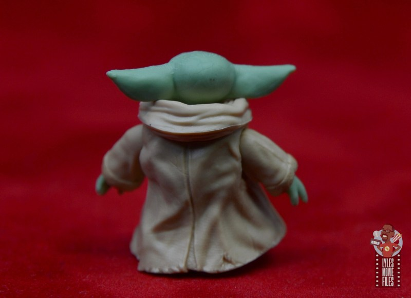 star wars the black series the child figure review - rear