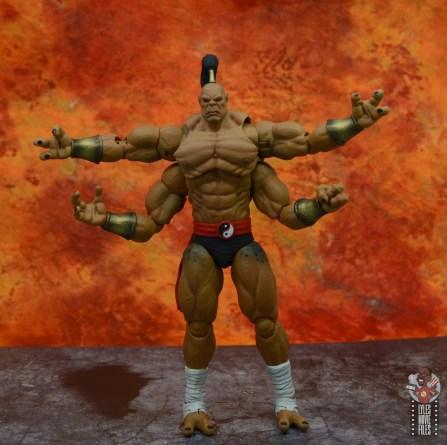 storm collectibles mortal kombat goro figure review - front