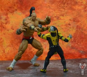 storm collectibles mortal kombat goro figure review - grabbing cyrax