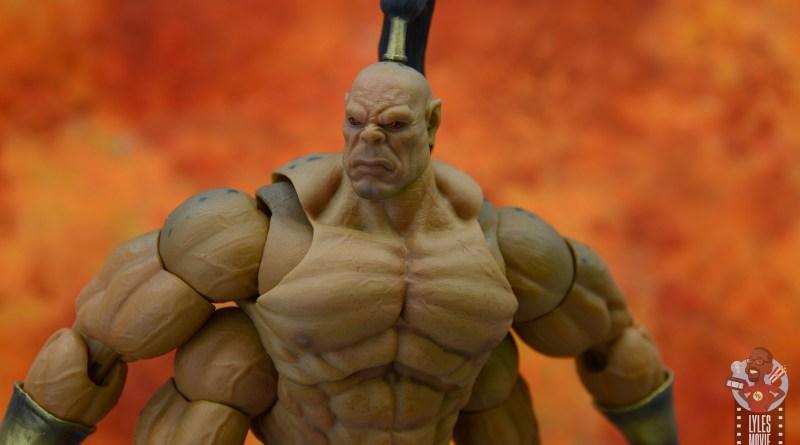 storm collectibles mortal kombat goro figure review - main pic