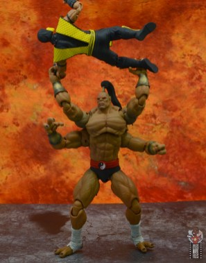 storm collectibles mortal kombat goro figure review - picking up scorpion