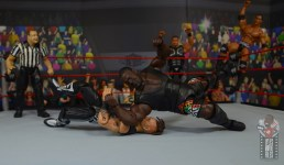 wwe decade of destruction mark henry figure review - elbow drop to road dogg