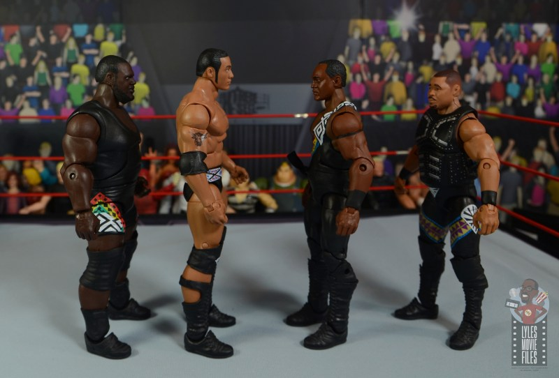 wwe decade of destruction mark henry figure review - facing d-lo brown, the rock and farooq
