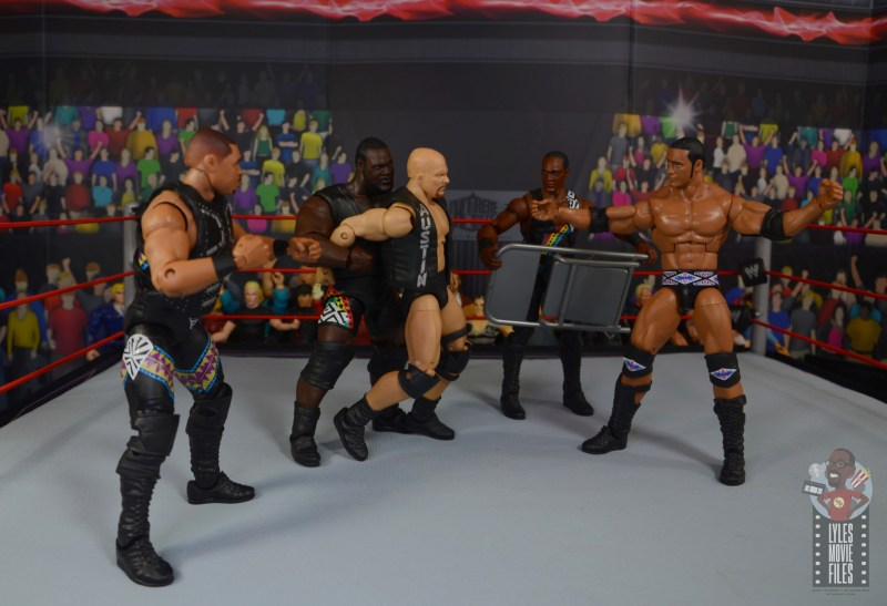 wwe decade of destruction mark henry figure review - jumping stone cold steve austin
