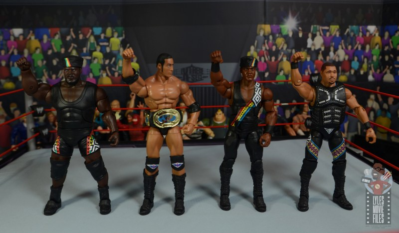 wwe decade of destruction mark henry figure review -nation of domination salute