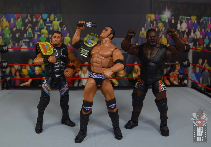 wwe decade of destruction mark henry figure review - rock's nation of domination