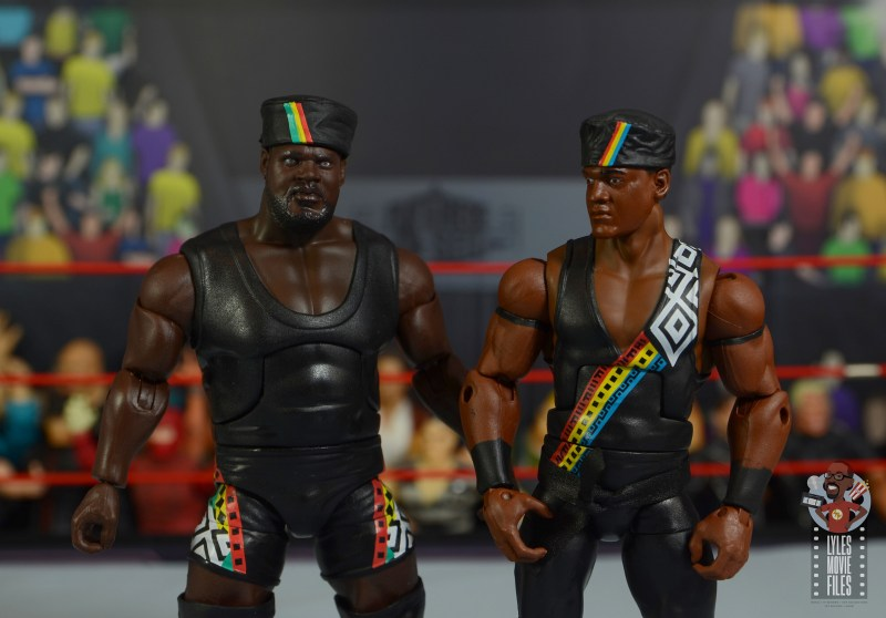 wwe decade of destruction mark henry figure review - skin tone comparison with farooq