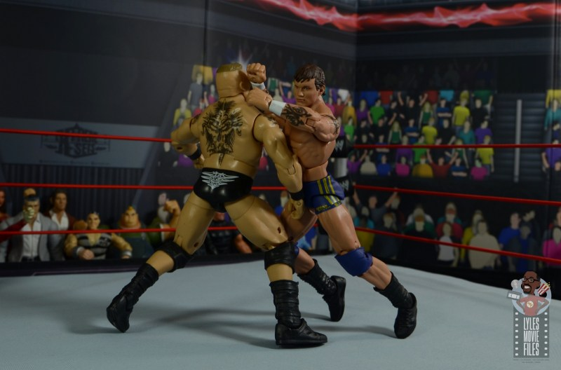wwe decade of domination randy orton figure review - forearm smash to brock lesnar