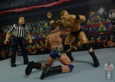 wwe decade of domination randy orton figure review - punching brock