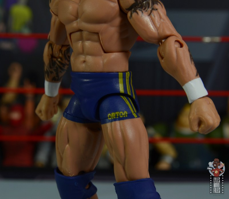 wwe decade of domination randy orton figure review - tight detail