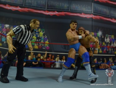 wwe elite don muraco figure review - headlock on million dollar man