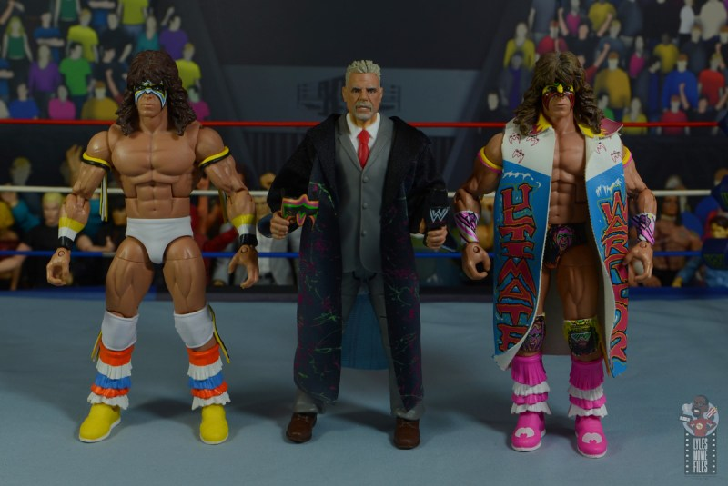 wwe legends series 8 ultimate warrior figure review -