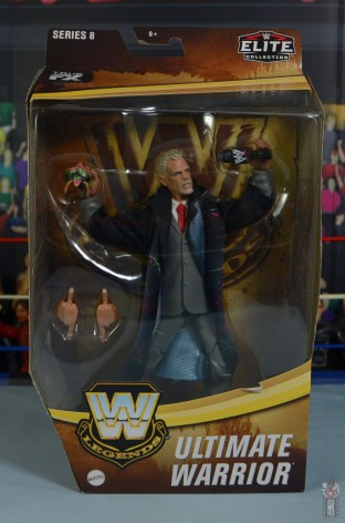 wwe legends series 8 ultimate warrior figure review - package front