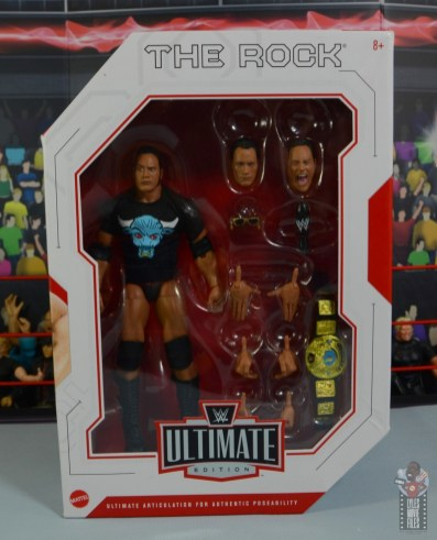 wwe ultimate edition the rock figure review - package front