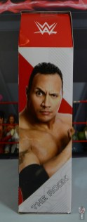 wwe ultimate edition the rock figure review - package right side