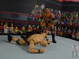 wwe ultimate edition the rock figure review - prepping rock bottom