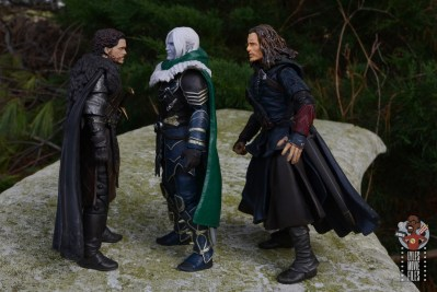 dungeons and dragons drizzt and guenhwyvar figure review - facing robb stark and ranger
