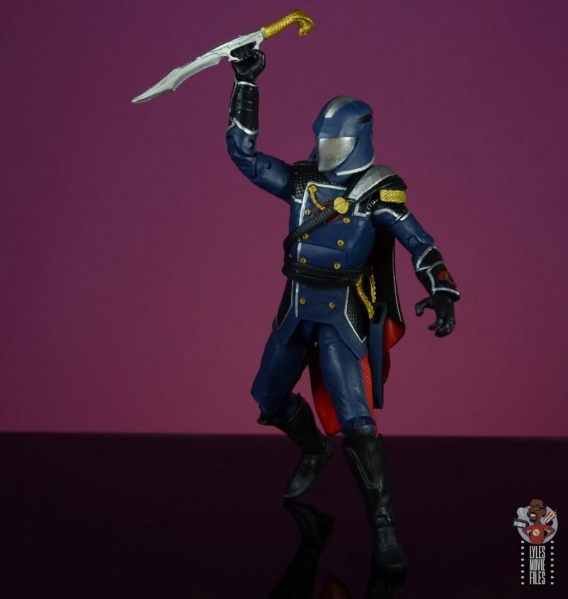 gi joe classified series cobra commander figure review - clutching dagger