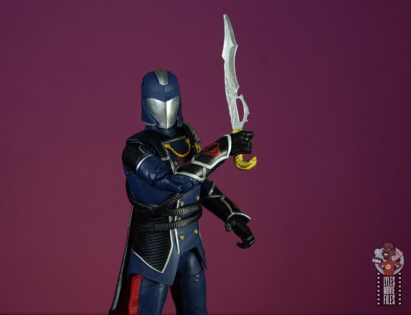 gi joe classified series cobra commander figure review - dagger detail