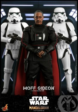 hot toys the mandalorian moff gideon - flanked by stormtroopers