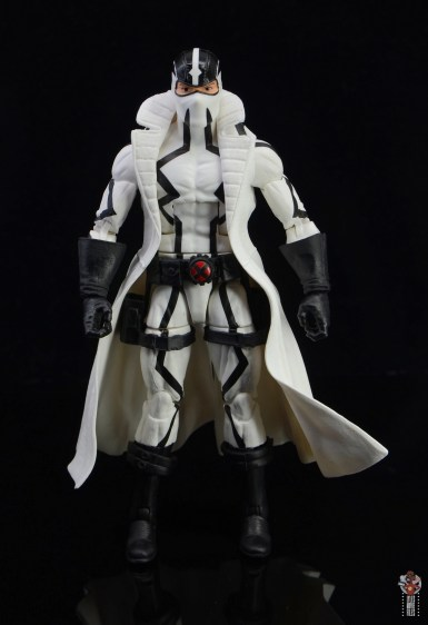 marvel legends nimrod, fantomex and psylocke figure review - fantomex front